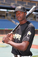 June 20,2006:  Lorenzo Cain of the West Virginia Power during the South Atlantic League All-Star at Classic Park in Eastlake, OH.  Photo By Mike Janes/Four Seam Images