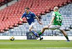 St Johnstone v Hibs…22.05.21  Scottish Cup Final Hampden Park<br />Craig Bryson and Tom Gogic<br />Picture by Graeme Hart.<br />Copyright Perthshire Picture Agency<br />Tel: 01738 623350  Mobile: 07990 594431