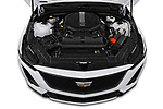 Car Stock 2020 Cadillac CT5-V V-Series 4 Door Sedan Engine  high angle detail view