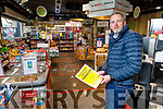Louis Byrne of Byrnes Spar at his shop in Caherslee on Thursday and is worried about the future of retail due to the outbreak of Covid-19