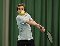 Rotterdam, The Netherlands, March 18, 2016,  TV Victoria, NOJK 14/18 years, Daniel Bénard (NED)<br /> Photo: Tennisimages/Henk Koster
