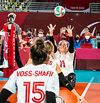 Heidi Peters, Tokyo 2020 - Sitting Volleyball // Volleyball Assis.<br /> Canada takes on Japan in sitting volleyball // Le Canada affronte le Japon en volleyball assis. 09/01/2021.