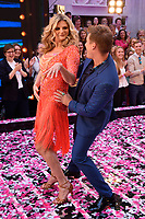 """Lee Ryan and Susannah Constantine<br /> at the launch of """"Strictly Come Dancing"""" 2018, BBC Broadcasting House, London<br /> <br /> ©Ash Knotek  D3426  27/08/2018"""