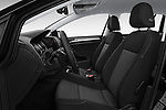 Front seat view of 2017 Volkswagen Golf-Variant Trend-Line 5 Door Wagon Front Seat  car photos