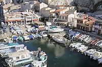 - Marsiglia, l'antico borgo marinaro Vallon des Auffes....- Marseille, the ancient fishing village Vallon des Auffes