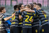inter-genoa - milano 28 febbraio 2021 - 24° giornata Campionato Serie A - nella foto: darmian segna il gol 2-0