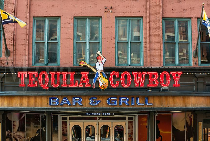 Tequila Cowboy Bar, Nashville, Tennessee, USA.