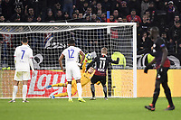 11 TIMO WERNER (LEI) - PENALTY - BUT - 01 ANTHONY LOPES (OL)<br /> Lione 10-12-2019 <br /> Lyon vs Leipzig <br /> Champions League 2019/2020<br /> Photo Anthony Bibard / Panoramic / Insidefoto <br /> Italy Only