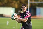 James Hook during Ospreys rugby training at Llandarcy Institute of Sport near Neath aheah of their Heineken Cup match with Clermont Auvergne on Sunday..