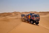 5th January 2021; Dakar Rally stage 3; #509 Mardeev Airat (rus), Svistunov Dmitriy (rus), Galiautdinov Akhmet (rus), Kamaz, Kamaz - Master, Camion, Truck, action during the 3rd stage of the Dakar 2021 between Wadi Al Dawasir and Wadi Al Dawasir, in Saudi Arabia on January 5, 2021