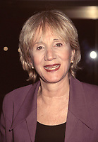 """Olympia Dukakis at Liza Minnelli's first performance in """"Victor/Victoria"""" at The Marquis Theatre in New York City on January 7, 1997.  Minnelli is filling in for Julie Andrews for a four-week break. Photo Credit: Henry McGee/MediaPunch"""