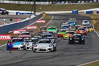 Race 2, Start, #53 Moorespeed, Porsche 991 / 2019, GT3P: Riley Dickinson