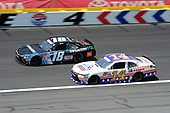 NASCAR Xfinity Series<br /> Hisense 4K TV 300<br /> Charlotte Motor Speedway, Concord, NC USA<br /> Saturday 27 May 2017<br /> Christopher Bell, SiriusXM Toyota Camry, JJ Yeley, Superior Essex Toyota Camry<br /> World Copyright: John K Harrelson<br /> LAT Images<br /> ref: Digital Image 17CLT2jh_03000