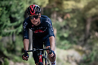 Dylan van Baarle (NED/INEOS Grenadiers) in the descent of the Col de Beixalis<br /> <br /> Stage 15 from Céret to Andorra la Vella (191km)<br /> 108th Tour de France 2021 (2.UWT)<br /> <br /> ©kramon