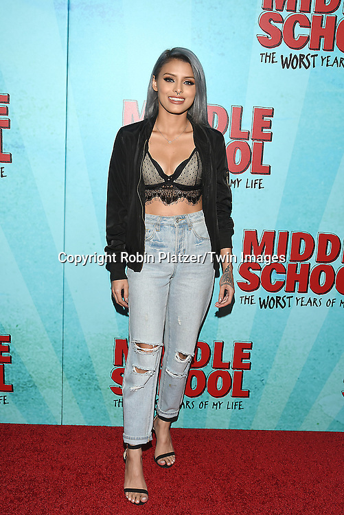 """Isabel Bedoya attends the """"Middle School: The Worst Years of My Life"""" New York Screening on October 1, 2016 at the Regal E-Walk in New York, New York, USA.<br /> <br /> photo by Robin Platzer/Twin Images<br />  <br /> phone number 212-935-0770"""
