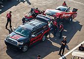 NHRA Mello Yello Drag Racing Series<br /> Lucas Oil NHRA Nationals<br /> Brainerd Int'l Raceway, Brainerd, MN USA<br /> Saturday 19 August 2017 Cruz Pedregon, Snap-On, Toyota, Camry, Funny Car, crew<br /> <br /> World Copyright: Mark Rebilas<br /> Rebilas Photo