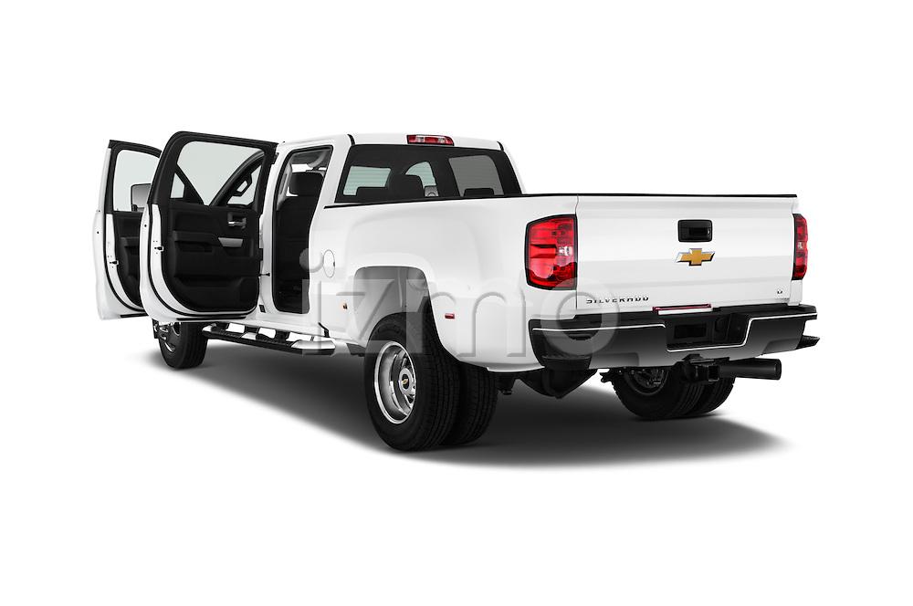 Car images of 2016 Chevrolet Silverado-3500HD LT-Crew-Cab-Long-Box-DRW 4 Door Pick-up Doors