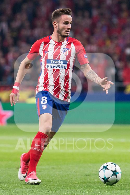Atletico de Madrid Saul Niguez during UEFA Champions League match between FK Qarabag and Atletico de Madrid at Wanda Metropolitano in Madrid, Spain. October 31, 2017. (ALTERPHOTOS/Borja B.Hojas)