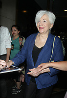 NEW YORK, NY - AUGUST 17: Olympia Dukakis at NBC's Today Show promoting the new film, 7 Chinese Brothers on August 17, 2015 in New York City. Credit: RW/MediaPunch