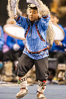 Nagsragmiut Inupiaq (Eskimo) dancers from the Village of Anaktuvuk Pass dance at the 2008 World Eskimo Indian Olympics held annually in Fairbanks, Alaska