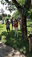 Chasse gÈante aux PokÈmon dans Toulouse le 24 Juillet 2016. # LES JOUEURS DE 'POKEMON GO' A TOULOUSE