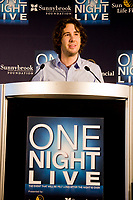 Award-winning recording artist Josh Groban was part of a landmark announcement today at the Air Canada Centre, where Aubrey and Marla Dan donated $8 million (CDN) to the Women & Babies Program at Sunnybrook. One Night Live(TM), presented by Sun Life Financial, is a first-of-its-kind concert fundraiser to support an extensive, leading-edge expansion for the Women & Babies Program. (CNW Group/Sunnybrook Foundation)