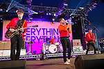 © Joel Goodman - 07973 332324 . 06/06/2015. Manchester , UK . Everything Everything perform on the Big Top stage at The Parklife 2015 music festival in Heaton Park , Manchester . Photo credit : Joel Goodman