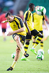 Borussia Dortmund Midfielder Gonzalo Castro Warming up during the International Champions Cup 2017 match between AC Milan vs Borussia Dortmund at University Town Sports Centre Stadium on July 18, 2017 in Guangzhou, China. Photo by Marcio Rodrigo Machado / Power Sport Images