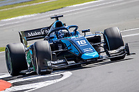 16th July 2021; Silverstone Circuit, Silverstone, Northamptonshire, England; F2 British Grand Prix, Free Practice; Roy Nissany in his DAMS Dallara F2 2018