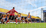 27.09.2020 Motherwell v Rangers:  Cedric Itten scores goal no 5
