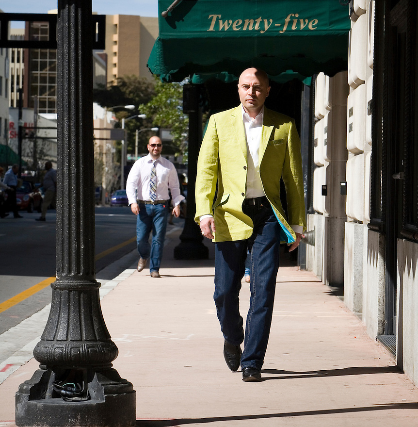 Miami, Florida March 15, 2010<br /> Photoshoot Tony Serna CEO Precision3