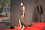 Actress Karina Salim appears on the opening red carpet for The 30th Tokyo International Film Festival in Roppongi on October 25th, 2017, in Tokyo, Japan. The festival runs from October 25th to November 3rd at venues in Tokyo. (Photo by Michael Steinebach/AFLO)
