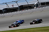 #19: Brandon Jones, Joe Gibbs Racing, Toyota Supra 1st Foundation and #39: Ryan Sieg, RSS Racing, Chevrolet Camaro Night Owl Contractors