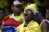 Hinchas de Colombian durante el en partido de eliminatorias para el Mundial de Fútbol 2018 contra Ecuador en el Estadio Metropolitano Roberto Melendez de Barranquilla el 29 de marzo de 2016.<br /> <br /> Foto: Archivolatino<br /> <br /> COPYRIGHT: Archivolatino<br /> Prohibido su uso sin autorización.