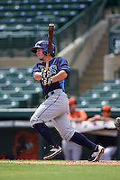 Tampa Bay Rays Zacrey Law (11) during an instructional league game against the Baltimore Orioles on September 25, 2015 at Ed Smith Stadium in Sarasota, Florida.  (Mike Janes/Four Seam Images)