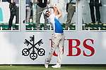 Sébastien Gros of France tees off the first hole during the 58th UBS Hong Kong Golf Open as part of the European Tour on 08 December 2016, at the Hong Kong Golf Club, Fanling, Hong Kong, China. Photo by Marcio Rodrigo Machado / Power Sport Images
