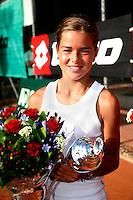 11-8-07, Alphen aan den Rijn, Nationale junior kampioenschappen, Carlijn Hoedt wint meisjes 12 jaar