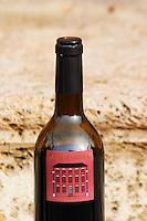 Chateau Mansenoble. In Moux. Les Corbieres. Languedoc. France. Europe. Bottle.