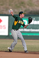 Siena Saints Vincent Citro #6 during a game vs Stetson Hatters at Melching Field in De Land, Florida;  March 16, 2011.  Stetson defeated Siena 5-1.  Photo By Mike Janes/Four Seam Images