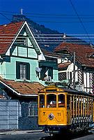 Bonde de Santa Teresa. Rio de Janeiro. 2003. Foto de Ricardo Azoury.