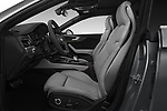 Front seat view of a 2018 Audi S5 Sportback 3.0T Premium Plus quattro Tiptronic 5 Door Hatchback front seat car photos