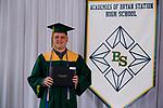 Fox, Tristan  received their diploma at Bryan Station High school on  Thursday June 4, 2020  in Lexington, Ky. Photo by Mark Mahan Mahan Multimedia