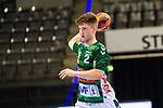 Oskar Neudeck (FRISCH AUF! Goeppingen #2) ; BGV Handball Cup 2020 Finaltag: TVB Stuttgart vs. FRISCH AUF Goeppingen am 13.09.2020 in Stuttgart (PORSCHE Arena), Baden-Wuerttemberg, Deutschland<br /> <br /> Foto © PIX-Sportfotos *** Foto ist honorarpflichtig! *** Auf Anfrage in hoeherer Qualitaet/Aufloesung. Belegexemplar erbeten. Veroeffentlichung ausschliesslich fuer journalistisch-publizistische Zwecke. For editorial use only.