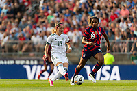 EAST HARTFORD, CT - JULY 5: Katty Martinez #19 of Mexico during a game between Mexico and USWNT at Rentschler Field on July 5, 2021 in East Hartford, Connecticut.