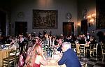 BANCHETTO<br /> BALLO DI BENEFICENZA AIRC A PALAZZO ALTIERI ROMA 2002