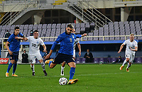 FBL- Friendly  football match Italy vs Estonia at the Artemio Franchi stadium in Florence on November 11, 2020.<br /> Italy's Emerson kicks a penalty and scores during the friendly football match between Italy snd Estonia at the Artemio Franchi stadium in Florence on November 11, 2020. <br /> UPDATE IMAGES PRESS/Isabella Bonotto