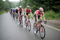 Team Lotto-Soudal at the helm defending Sean De Bie's (BEL/Lotto-Soudal) overall lead<br /> <br /> stage 4: Hotel Verviers - La Gileppe (Jalhay/BEL) 186km <br /> 30th Ster ZLM Toer 2016