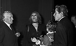 VITTORIO DE SICA CON ROMILDA VILLANI E AMEDEO NAZZARI<br /> SERATA TEATRO CARLINO PER PREMIAZIONE VITTORIO DE SICA ROMA 1970