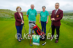 Members of the Ballybunion Golf Club launch their Irish Motor Neurone Disease Golf Classic at the club on Tuesday and it's been held on July 10th. L to r: Olga Kiely (Womens Captain), Donal Liston, Mary Horgan and Kevin Barry (Mens Captain).