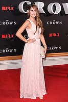 """Gemma Oaten<br /> at the World Premiere of the Netflix series """"The Crown"""" at the Odeon Leicester Square, London.<br /> <br /> <br /> ©Ash Knotek  D3192  01/11/2016"""